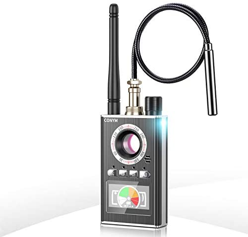 Conym K88 Bug Detector, Hidden Device Detector, Hidden Camera detectors, Anti Spy RF Detector, Camera Finder for Wireless Audio Bug Camera Detector Finder, Upgraded Version.