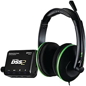 Turtle Beach Ear Force DXL1 - Auriculares con micrófono (Alámbrico, USB, 4.87 m, Circumaural, 20 - 20000 Hz, 120 Db)