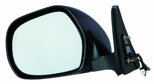 (Depo 312-5415L3EB Toyota 4Runner Driver Side Textured Non-Heated Power Mirror)