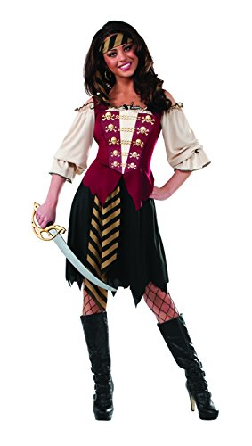 Elegant Queen Sexy Costumes - Rubie's Women's Elegant Pirate Adult Costume,