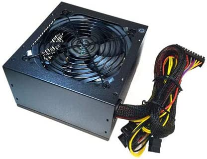 115//230V Switch All Protections APEVIA ATX-AR500 Astro 500W ATX Power Supply with Auto-Thermally Controlled 120mm Fan