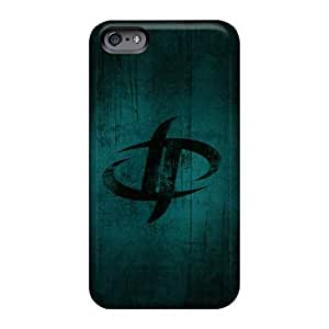 Shock-Absorbing Cell-phone Hard Cover For Iphone 6 With Customized Vivid Drowning Pool Band Skin AshleySimms