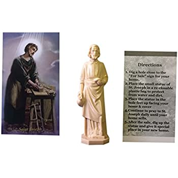 saint joseph statue house selling miracle specially blessed st joseph statue. Black Bedroom Furniture Sets. Home Design Ideas