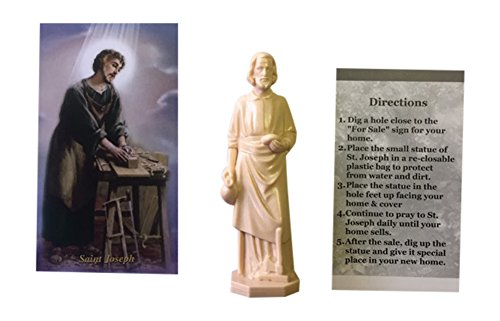 Holly Lines Bundle St. Joseph Statue to Sell House Set. -