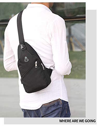 Impermeable bolsa estilo carga de simple moda gimnasio gimnasio Robin al Negro aire Crossbody de puerto deporte Mochila de Hombres de pechera de J Hombro la la Los bolso libre con qIfPvqpw