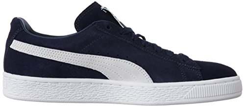 Mode peacoat white Adulte Mixte Suede Puma Baskets Bleu Classic 51 Sxnatg0Hg
