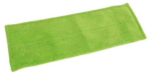 Quickie Green Cleaning Hardwood Floor Mop Refill, Microfiber, Green