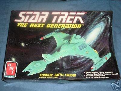 - Star Trek The Next Generation Klingon Battle Cruiser Model Kit