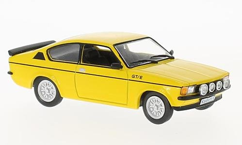 Opel Kadett C GT/E, yellow, 1978, Model Car, Ready-made,, used for sale  Delivered anywhere in USA