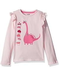 Gymboree Toddler Girls' Cupcake Dinosaur Graphic Tee