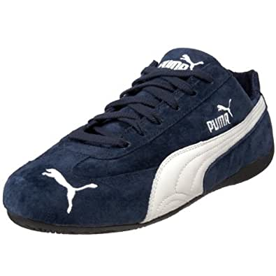 Amazon.com | PUMA Men's Speed Cat SD Sneaker, Insignia Blue/Natural, 5 ...