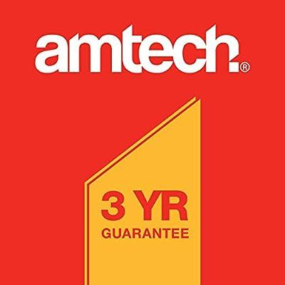 Amtech 6-Inch Pointed Trowel Soft Red Grip : Garden & Outdoor