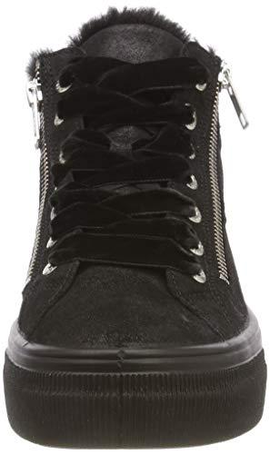 00 Donna Nero A 00 Collo Lima Alto Sneaker Legero schwarz ZWHC4wqRc