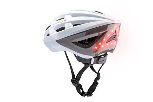 Lumos Kickstarter Lite Helmet Polar White