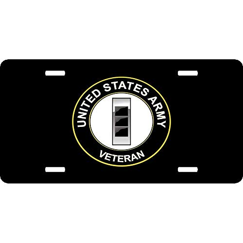 Light year GT Funny License Plate Frame Unique Design Vanity License Plate, Metal Car License Plate12×6inch US Army W-3 Chief Warrant Officer 3 ()