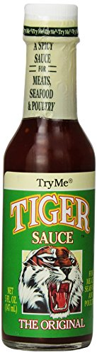Barbecue Tigers Sauce - Try Me Tiger Sauce 5 Ounce