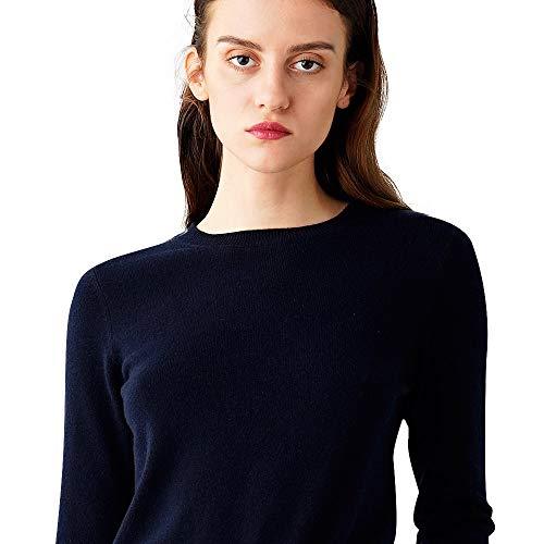 Cozymetters.Co Women's 100% Cashmere Cozy Round Neck Sweater - Cashmere Round Sweater Neck