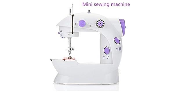 Máquinas de Coser Mini máquina de coser con mesa de extensión ...
