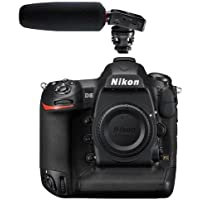 Nikon D5 DSLR CF Version Body - With Tascam DR-10SG Camera-Mountable Audio Recorder with Shotgun Microphone