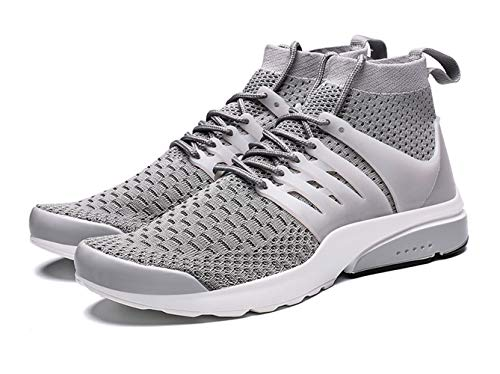 Kanarder Men's Walking Shoes Athletic Casual Mesh Comfortable High-Top Sneaker
