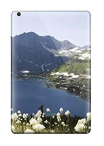 Ipad Case - Tpu Case Protective For Ipad Mini/mini 2- Glacier National Park