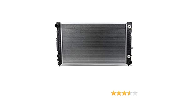 DNA Motoring OEM-RA-2648 Aluminum Radiator For 96-02 Audi A4 1.8T A6 2.8//Rs4 S4 2.7