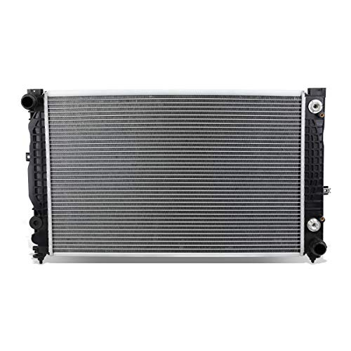 DNA Motoring OEM-RA-2648 Aluminum Radiator [For 96-02 Audi A4 1.8T A6 2.8/Rs4 S4 - A4 A6 Engine Audi