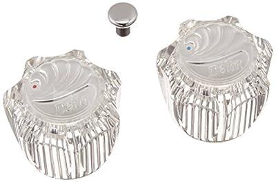 Delta Faucet H21 Single Clear Knob Handle Kit