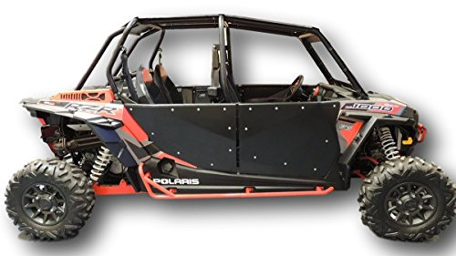 Four Door - 2014-2019 Polaris RZR XP 1000 Four Door 4 Door Full Doors also fits RZR Turbo Four Door