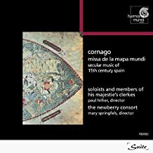 Cornago: Missa de la mapa mundi (Secular music of 15th century Spain)