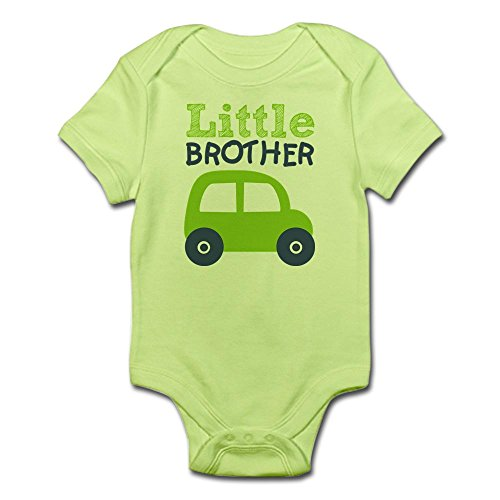 - CafePress Little Brother 7B Body Suit - Cute Infant Bodysuit Baby Romper