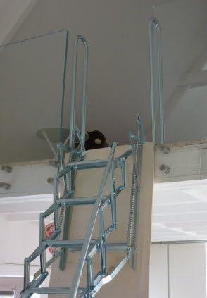 Escalera plegable Acordeón para Mezzanine – ahorro de espacio y esteticismo: Amazon.es: Bricolaje y herramientas