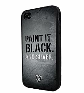 American Football NFL OAKLAND RAIDERS , Cool iPhone 5 5s Smartphone iphone Case Cover Collector iphone TPU Rubber Case Black