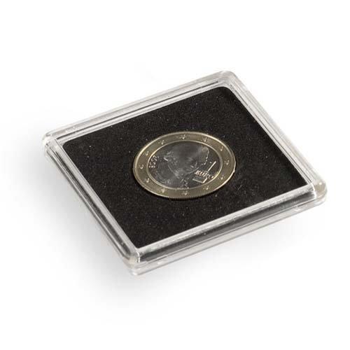 Leuchtturm 329295 Square coin capsules QUADRUM, inner diameter 26 mm QUADRUM26 - 329295