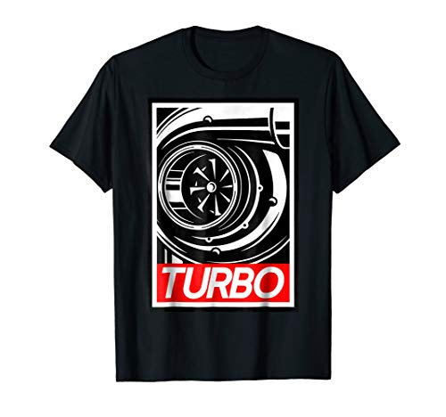 Mens Turbo Tshirt For people who love boost, racing and drifting.