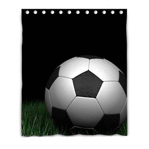 sport soccer football background Blackout Window Curtain Pol