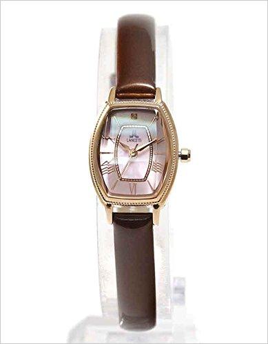 f97e61081a Amazon   ランチェッティ 腕時計 レディース ピンク LT-6210R-BR   レディース腕時計   腕時計 通販