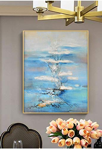 l Paintings,Landscape Style, Abstract Layer Cloud Painting, Paintings On Canvas, Large Size Home Decoration Wall Art, For Bedroom Living Room Bedside Restaurant Decoration Painting ()