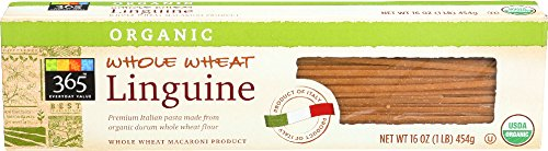 365 Everyday Value, Organic Whole Wheat Linguine, 16 Ounce