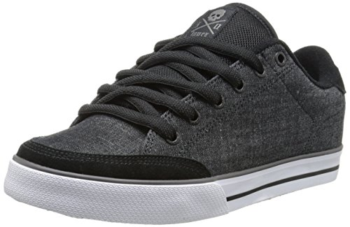 C1RCA Men's AL50 Skate Shoe, Graphite/Black, 12 M US