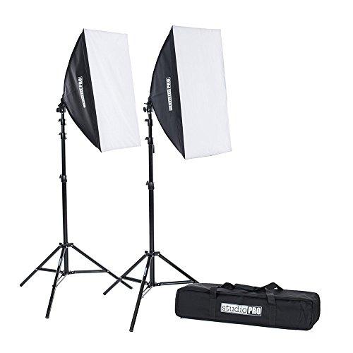 "StudioPRO Photo Studio 850W Auto Pop-up Softbox 20"" x 28"" Photo Video Lighting Kit"