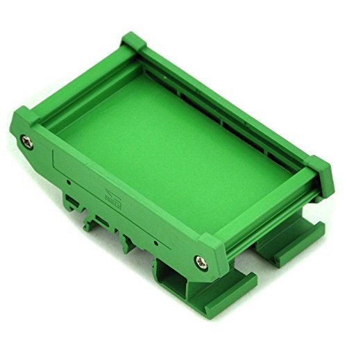 Electronics-Salon DIN Rail Mounting Carrier, for 72mm x 47.35mm PCB, Housing, - Box Rail Mount Din