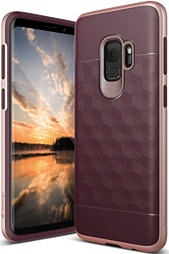 Galaxy S9 Case, Caseology [Parallax Series] Slim Protective Dual Layer Textured Cover Secure Grip...