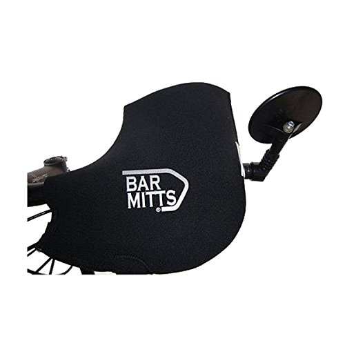 Bar Mitts For Mountain End Mirror Extreme Bar, Black by Bar Mitts