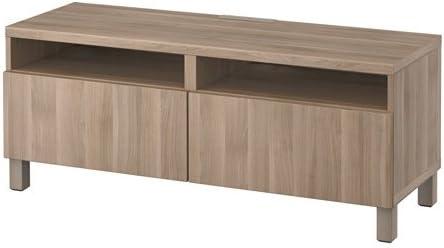 Ikea - Mueble de TV con cajones abatibles, Efecto de Nogal, Color ...