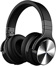 COWIN E7 PRO [Upgraded] Active Noise Cancelling Headphones Bluetooth Headphones with Microphone/Deep Bass Wire