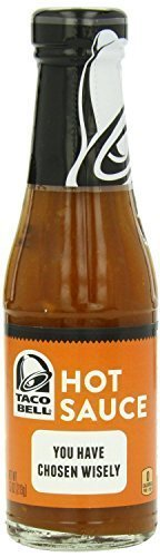 Taco Bell Home Originals  Hot Restaurant Sauce  7 5 Oz  Pack Of 4  By Taco Bell