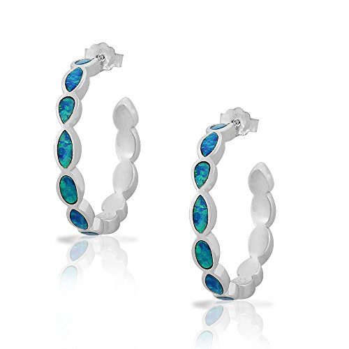 925 Sterling Silver Blue Turqu