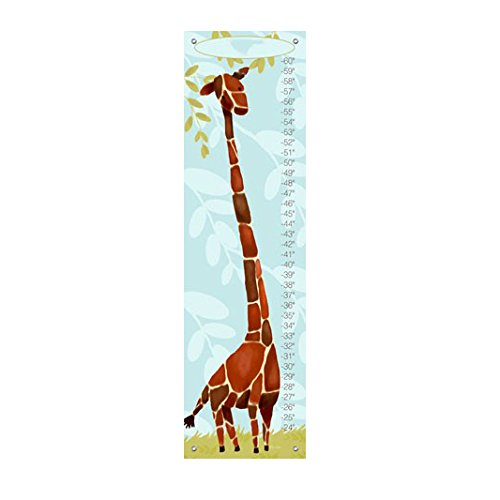 Oopsy Daisy Gillespie The Giraffe Growth Chart, Blue (Gillespie Giraffe Growth Chart)