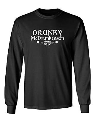 Drunky Mc Drunkenson St. Patrick's Day Saint Irish Pats Sarcastic Funny T Shirt